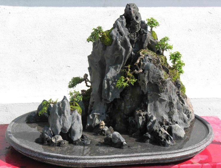 Cách làm hòn non bộ nhỏ bằng đá cực kỳ đơn giản